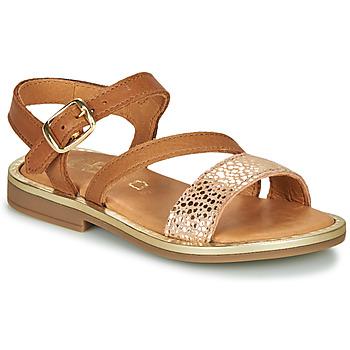 Čevlji  Deklice Sandali & Odprti čevlji GBB FANA Cognac