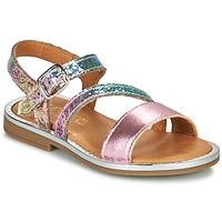 Čevlji  Deklice Sandali & Odprti čevlji GBB FANA Rožnata / Večbarvna