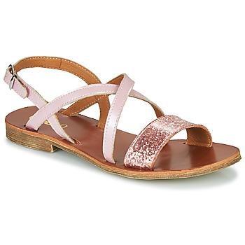 Čevlji  Deklice Sandali & Odprti čevlji GBB FAVOLA Rožnata