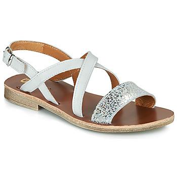 Čevlji  Deklice Sandali & Odprti čevlji GBB FAVOLA Bela