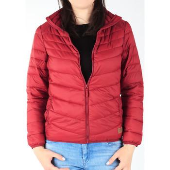 Oblačila Ženske Puhovke Lee Light Puffer Bright Burgundy L58PSZPR burgundy