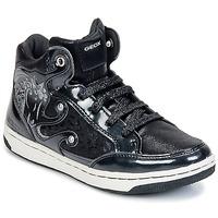 Čevlji  Deklice Visoke superge Geox CREAMY A Črna