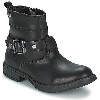 Čevlji  Deklice Mestni škornji    Geox SOFIA B Črna