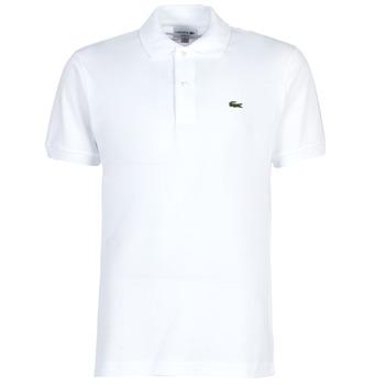 Oblačila Moški Polo majice kratki rokavi Lacoste POLO L12 12 REGULAR Bela