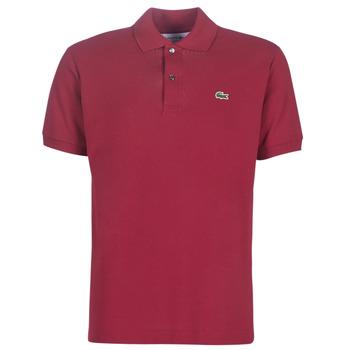 Oblačila Moški Polo majice kratki rokavi Lacoste POLO L12 12 REGULAR Bordo