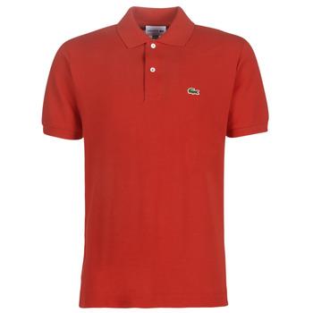 Oblačila Moški Polo majice kratki rokavi Lacoste POLO L12 12 REGULAR Rdeča