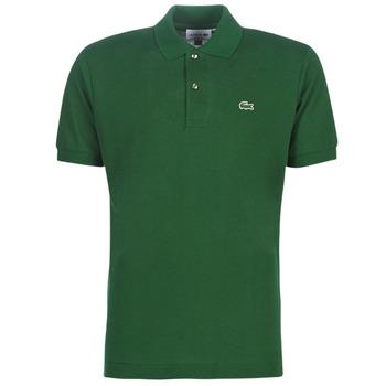 Oblačila Moški Polo majice kratki rokavi Lacoste POLO L12 12 REGULAR Zelena