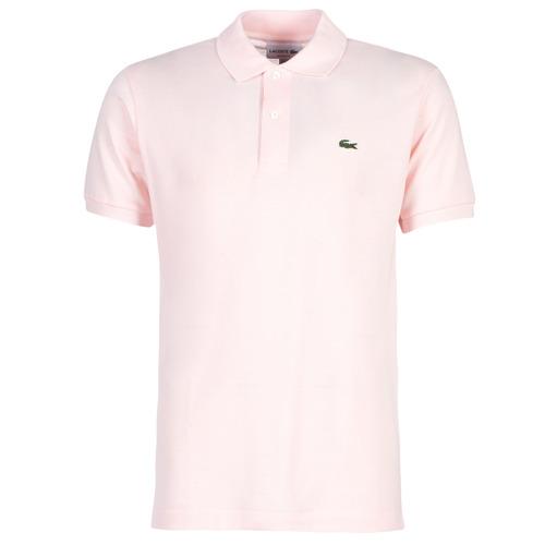 Oblačila Moški Polo majice kratki rokavi Lacoste POLO L12 12 REGULAR Rožnata