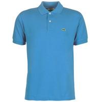 Oblačila Moški Polo majice kratki rokavi Lacoste POLO L12 12 REGULAR Modra