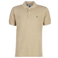 Oblačila Moški Polo majice kratki rokavi Lacoste POLO L12 12 REGULAR Bež
