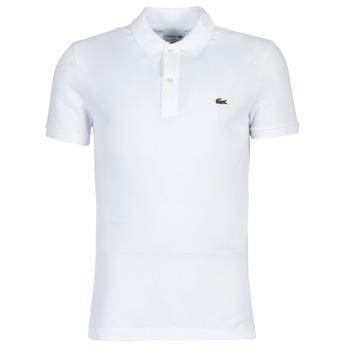 Oblačila Moški Polo majice kratki rokavi Lacoste PH4012 SLIM Bela