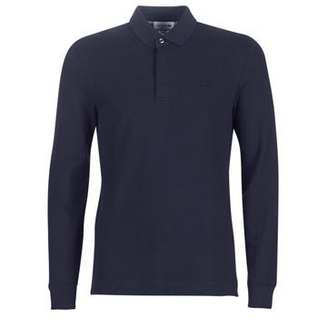 Oblačila Moški Polo majice dolgi rokavi Lacoste PH2481 REGULAR Modra