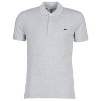 Oblačila Moški Polo majice kratki rokavi Lacoste PH4012 SLIM Siva