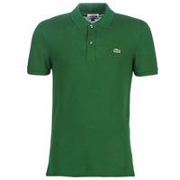 Oblačila Moški Polo majice kratki rokavi Lacoste PH4012 SLIM Zelena