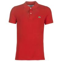 Oblačila Moški Polo majice kratki rokavi Lacoste PH4012 SLIM Rdeča
