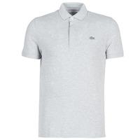 Oblačila Moški Polo majice kratki rokavi Lacoste PARIS POLO REGULAR Siva