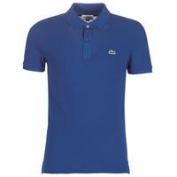 Oblačila Moški Polo majice kratki rokavi Lacoste PH4012 SLIM Modra