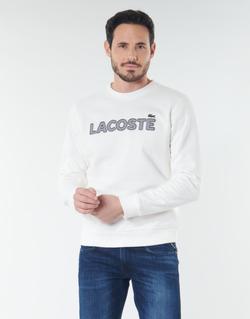 Oblačila Moški Puloverji Lacoste SH8632 Bela