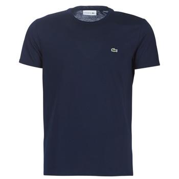 Oblačila Moški Majice s kratkimi rokavi Lacoste TH6709 Modra