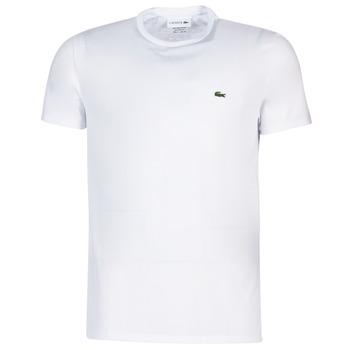 Oblačila Moški Majice s kratkimi rokavi Lacoste TH6709 Bela
