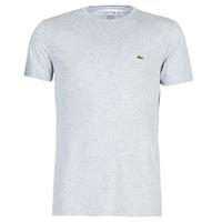 Oblačila Moški Majice s kratkimi rokavi Lacoste TH6709 Siva