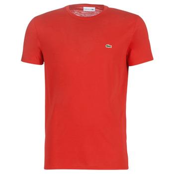 Oblačila Moški Majice s kratkimi rokavi Lacoste TH6709 Rdeča