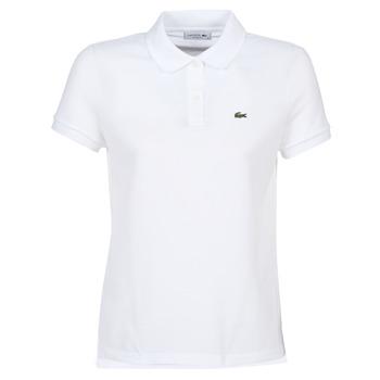 Oblačila Ženske Polo majice kratki rokavi Lacoste PF7839 Bela