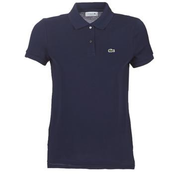Oblačila Ženske Polo majice kratki rokavi Lacoste PF7839 Modra