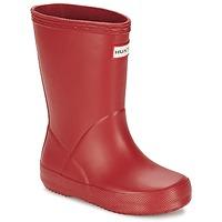 Čevlji  Otroci škornji za dež  Hunter KIDS FIRST CLASSIC Rdeča