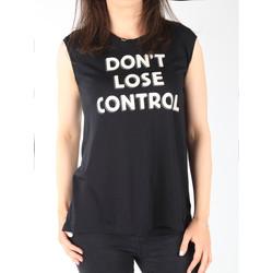Oblačila Ženske Majice brez rokavov Lee T-shirt  Muscle Tank Black L42CPB01 black