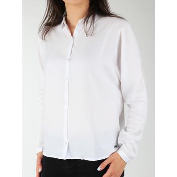Oblačila Ženske Srajce & Bluze Wrangler Relaxed Shirt W5213LR12 white