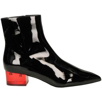 Čevlji  Ženske Nizki škornji Jeffrey Campbell JCS LUMINOUS PATENT blare-nero-rosso