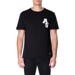 Oblačila Moški Majice s kratkimi rokavi Atlantic Star Apparel T-SHIRT col-5-nero