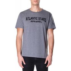 Oblačila Moški Majice s kratkimi rokavi Atlantic Star Apparel T-SHIRT col-2-grigio-chiaro