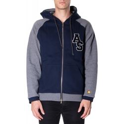 Oblačila Moški Puloverji Atlantic Star Apparel FELPA col-2-blu-grigio