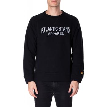 Oblačila Moški Puloverji Atlantic Star Apparel FELPA col-3-nero