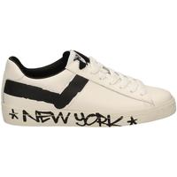 Čevlji  Moški Nizke superge Pony TOP STAR OX f1-bianco-nero