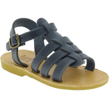 Čevlji  Dečki Sandali & Odprti čevlji Attica Sandals PERSEPHONE NUBUCK BLUE blu