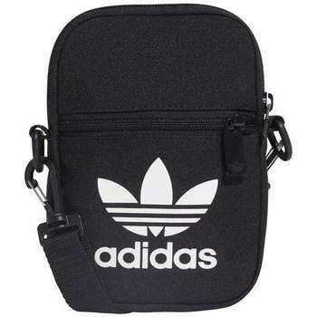 Torbice Naramna torba adidas Originals Fest Bag Trefoil Črna