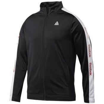 Oblačila Moški Puloverji Reebok Sport Training Essentials Linear Logo Črna