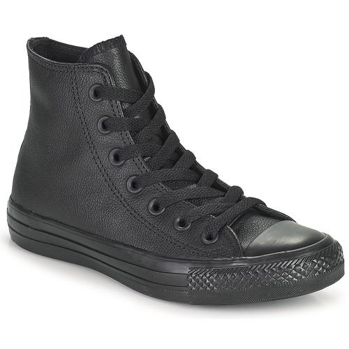Čevlji  Visoke superge Converse CHUCK TAYLOR ALL STAR CUIR  HI Črna