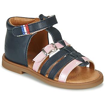 Čevlji  Deklice Sandali & Odprti čevlji GBB GUINGUETTE Rožnata