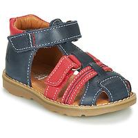 Čevlji  Dečki Sandali & Odprti čevlji GBB MACARON Rdeča