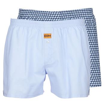 Spodnje perilo Moški Spodnje hlače DIM BOXER FLOTTANT x2 Modra