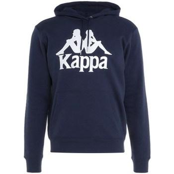 Oblačila Moški Puloverji Kappa Taino Hooded Sweatshirt Mornarsko modra