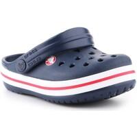 Čevlji  Otroci Cokli Crocs Crocband clog 204537-485 navy