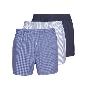 Spodnje perilo Moški Boksarice Lacoste 7H3394-8X0 Bela / Modra