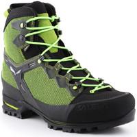 Čevlji  Moški Pohodništvo Salewa Trekking shoes  Ms Raven 3 GTX 361343-0456 green