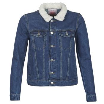 Oblačila Ženske Jeans jakne Moony Mood LOTITO Modra