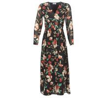 Oblačila Ženske Dolge obleke Betty London NOISETTE Črna / Večbarvna